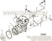 【空气压缩机】康明斯CUMMINS柴油机的3948518 空气压缩机