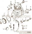 【空气压缩机】康明斯CUMMINS柴油机的3558195 空气压缩机
