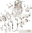 【空气压缩机】康明斯CUMMINS柴油机的3558141 空气压缩机