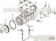 【空气压缩机】康明斯CUMMINS柴油机的3286449 空气压缩机