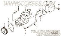 【空气压缩机】康明斯CUMMINS柴油机的3966524 空气压缩机