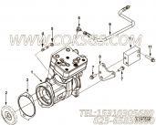 【空气压缩机】康明斯CUMMINS柴油机的4937461 空气压缩机
