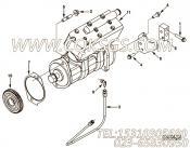 【空气压缩机】康明斯CUMMINS柴油机的5286681 空气压缩机