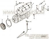 【空气压缩机】康明斯CUMMINS柴油机的3976374 空气压缩机