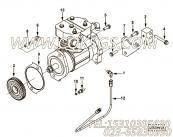 【柴油机B235 20的进水连接管组】 康明斯六角法兰面螺栓报价,参数及图片