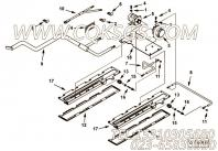 【磁性开关支架】康明斯CUMMINS柴油机的4000607 磁性开关支架