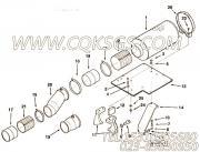 3179690隔热罩,用于康明斯KTA38-G5-800GF发动机空气滤清器组,更多【动力电】配件报价