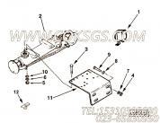 196074压力开关,用于康明斯NT855-C250柴油机加热器组,更多【大江特种车】配件报价