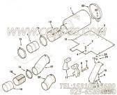 3179720进气管,用于康明斯KTA38-P1070柴油机空气滤清器组,更多【消防泵】配件报价