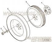 【曲轴皮带轮】康明斯CUMMINS柴油机的3255333 曲轴皮带轮