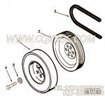 212114十二角螺栓,用于康明斯NTA855-C400柴油机减振器及安装组,更多【扫雪车】配件报价