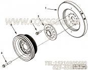 【曲轴皮带轮】康明斯CUMMINS柴油机的3681072 曲轴皮带轮