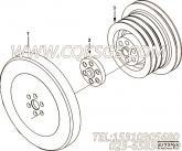 【曲轴皮带轮】康明斯CUMMINS柴油机的4056381 曲轴皮带轮