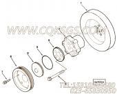 【曲轴皮带轮】康明斯CUMMINS柴油机的3046205 曲轴皮带轮