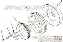 【曲轴皮带轮】康明斯CUMMINS柴油机的3081356 曲轴皮带轮