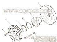 【曲轴皮带轮】康明斯CUMMINS柴油机的3051525 曲轴皮带轮
