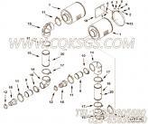 109558自锁螺母,用于康明斯KTA38-P1070柴油发动机空气滤清器组,更多【泥浆泵】配件报价