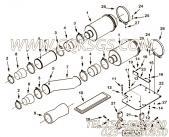 【进气口管】康明斯CUMMINS柴油机的3630526 进气口管