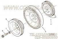 【曲轴皮带轮】康明斯CUMMINS柴油机的3047100 曲轴皮带轮