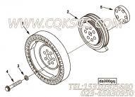 【曲轴皮带轮】康明斯CUMMINS柴油机的3011596 曲轴皮带轮