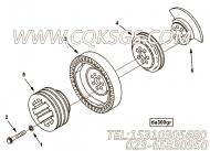【曲轴皮带轮】康明斯CUMMINS柴油机的197575 曲轴皮带轮