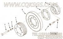 218708曲轴皮带轮,用于康明斯KTA19-M500发动机硅油减振器组,更多【船舶】配件报价
