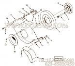 3349147防护罩支架,用于康明斯KTA19-G2柴油发动机减振器防护罩组,更多【发电用】配件报价
