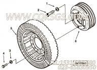 【曲轴皮带轮】康明斯CUMMINS柴油机的213354 曲轴皮带轮