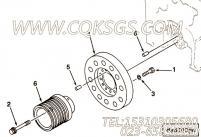 【曲轴皮带轮】康明斯CUMMINS柴油机的3094527 曲轴皮带轮