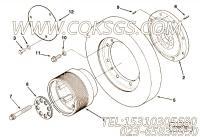 3003344皮带轮,用于康明斯KTA38-G5-800KW柴油发动机减振器组,更多【柴油发电】配件报价