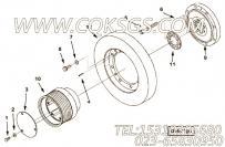 3069778曲轴皮带轮,用于康明斯KTA38-C1200主机减振器组,更多【河南电力牵张】配件报价