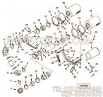 3201128六角螺母,用于康明斯KTA19-P425主机齿轮室盖安装组,更多【消防泵】配件报价