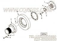 【曲轴皮带轮】康明斯CUMMINS柴油机的3626580 曲轴皮带轮