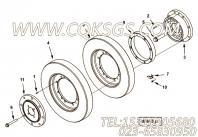 【传动轴适配器】康明斯CUMMINS柴油机的3635470 传动轴适配器