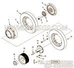 213364螺栓,用于康明斯KTA38-M1柴油发动机飞轮外连接安装组,更多【船机】配件报价