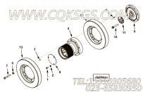 3628652硅油减振器,用于康明斯KTA38-M1柴油发动机减振器组,更多【船舶】配件报价