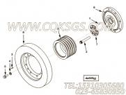 3037922减振器安装,用于康明斯KTA38-C1200主机减振器组,更多【哈尔滨博威矿用自卸车】配件报价