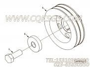 【曲轴皮带轮】康明斯CUMMINS柴油机的4982026 曲轴皮带轮