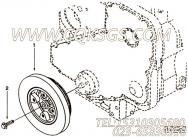 【柴油机6CTA8.3-M188的扭振减振器组】 康明斯扭振减振器报价,参数及图片