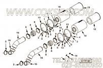 【空气输送管】康明斯CUMMINS柴油机的2862834 空气输送管