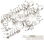 【空气净化器支架】康明斯CUMMINS柴油机的4917729 空气净化器支架