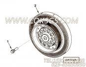 【发动机ISZ480 40的扭振减振器组】 康明斯扭振减振器报价,参数及图片