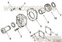 【液压泵支持】康明斯CUMMINS柴油机的212785 液压泵支持
