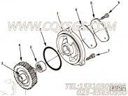 3028422液压泵齿轮,用于康明斯M11-C310柴油发动机液压泵驱动组,更多【徐工拌合机】配件报价