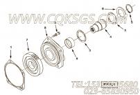 205784卡环,用于康明斯KTA19-C450主机液压泵驱动组,更多【钻机】配件报价