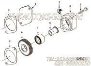 【柴油机6CTAA8.3-G的前端齿轮系附件驱动组】 康明斯附件驱动盖板密封垫报价,参数及图片