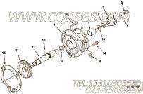 129510六角螺栓,用于康明斯NT855-L290动力附件驱动安装组,更多【车用】配件报价