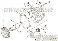 3883123螺栓,用于康明斯M11R-290主机附件驱动组,更多【船舶机械】配件报价