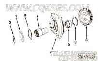 205708花键轴,用于康明斯KT19-C450动力液压泵驱动组,更多【油田压裂车】配件报价