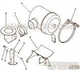 【空气净化器支架】康明斯CUMMINS柴油机的3276967 空气净化器支架